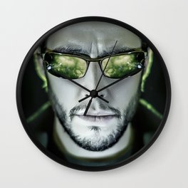 WELCOME TO REALITY Wall Clock