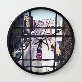 wrong turn in brooklyn Wall Clock