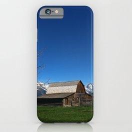 At The Mormon Row iPhone Case