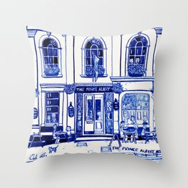 The Prince Albert, Brighton Throw Pillow