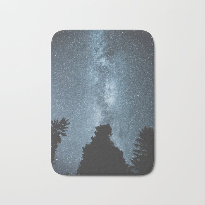 Stars over the Forest Bath Mat