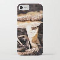 mushroom iPhone & iPod Cases featuring Mushroom by Alane Gianetti