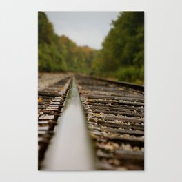 railroad 2 Canvas Print