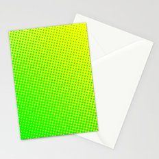 80's grade green Stationery Cards