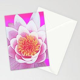 Ninfea Rose Stationery Cards