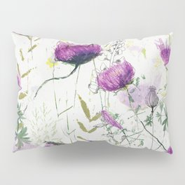Lilac flowers Pillow Sham