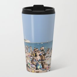Beach Time Travel Mug