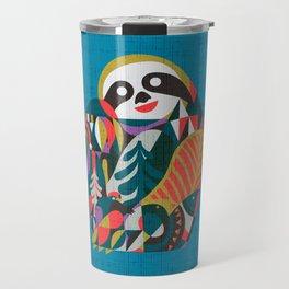 Nordic Sloth Travel Mug