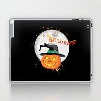 Halloween's pumpkin Laptop & iPad Skin