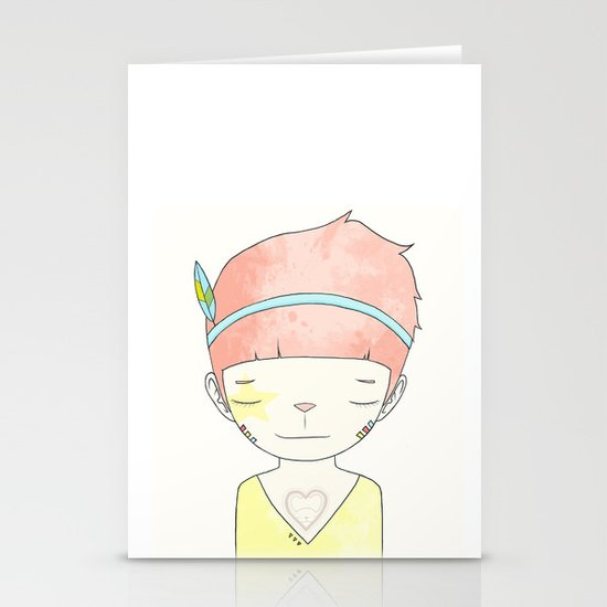 WHEN I LOST EVERYTHING Stationery Cards