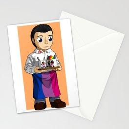 Pride Miserables - Bisexual Marius Stationery Cards