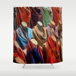 Pashmina Shawls Shower Curtain