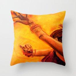 Belly Dancer (4) Throw Pillow