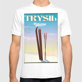 Trysil Norway holiday poster T-shirt