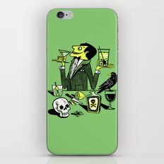 Drinks With The Mad Scientist Next Door iPhone & iPod Skin