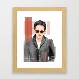 K Stew Framed Art Print