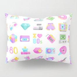 CUTE '80S PATTERN (RETRO THROWBACK EIGHTIES) Pillow Sham