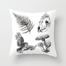 Oldwood Treasures  Throw Pillow