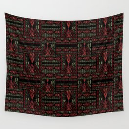 Patchwork seamless snake skin pattern texture Wall Tapestry