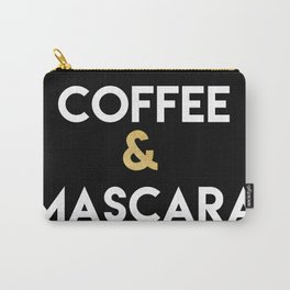 COFFEE AND MASCARA - Kitchen quote Carry-All Pouch