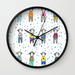 Pijama party Wall Clock