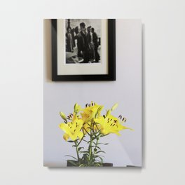 Lilies for Love Metal Print