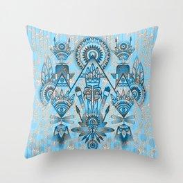 Ancient Spirits Throw Pillow