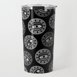 Eyecon (b/w) Travel Mug