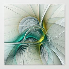 Fractal Evolution, Abstract Art Graphic Canvas Print