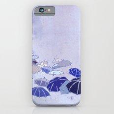 Rainy day blues iPhone 6s Slim Case