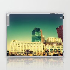 Chicago Retro Skyline ~ architecture Laptop & iPad Skin