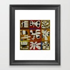 TIC TAC ART Framed Art Print
