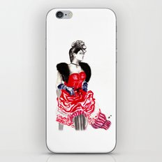 Can Can Dancer iPhone & iPod Skin