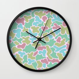 Pile of rejected candy Wall Clock