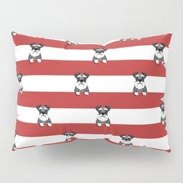schnauzer stripes dog breed gifts Pillow Sham