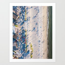 Alki Beach Art Print
