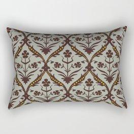 Praval trellis ikat Rectangular Pillow