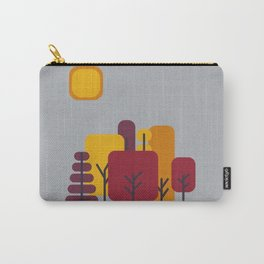 Sun over Autumn Forest Carry-All Pouch