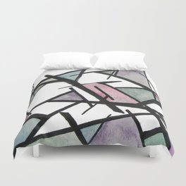 Abstract Triangles  Duvet Cover