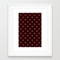 polka Framed Art Prints featuring Polka by Taylor Steiner