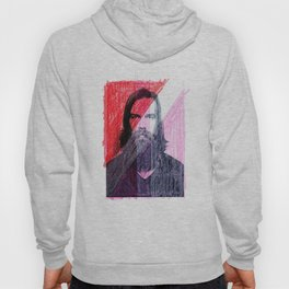 Red, White and Pink Portrait, 2004 Hoody