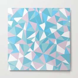 Abstraction Pastel Metal Print
