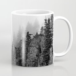 Foggy Trees Coffee Mug