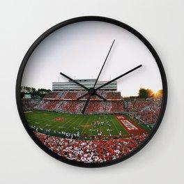 Wolfpack Football Wall Clock