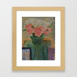 Spring Layers Framed Art Print
