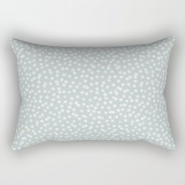 SILVER STARS CONFETTI Rectangular Pillow