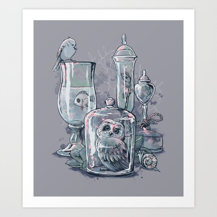 Be Still, Life Art Print
