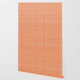 Squares of Orange Wallpaper