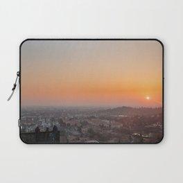 colorful sunset in Bergamo Laptop Sleeve