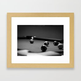 Billiard Framed Art Print